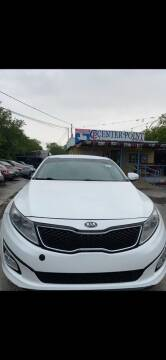 2013 Kia Optima Hybrid for sale at Centerpoint Motor Cars in San Antonio TX