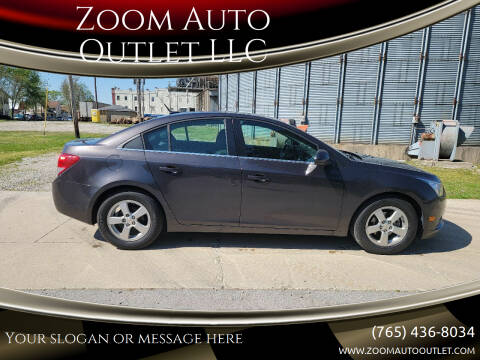 2014 Chevrolet Cruze for sale at Zoom Auto Outlet LLC in Thorntown IN
