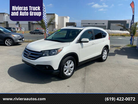 2014 Honda CR-V for sale at Rivieras Truck and Auto Group in Chula Vista CA