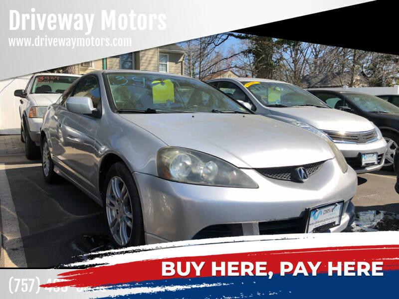 2005 Acura RSX for sale at Driveway Motors in Virginia Beach VA