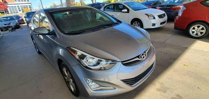 2016 Hyundai Elantra for sale at Divine Auto Sales LLC in Omaha NE