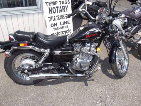 2014 Honda Rebel for sale at Fulmer Auto Cycle Sales - Fulmer Auto Sales in Easton PA