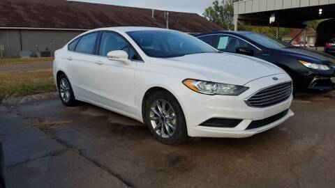 2017 Ford Fusion for sale at S & S Sports and Imports in Newton KS
