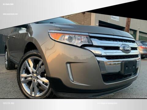 2012 Ford Edge for sale at O A Auto Sale in Paterson NJ