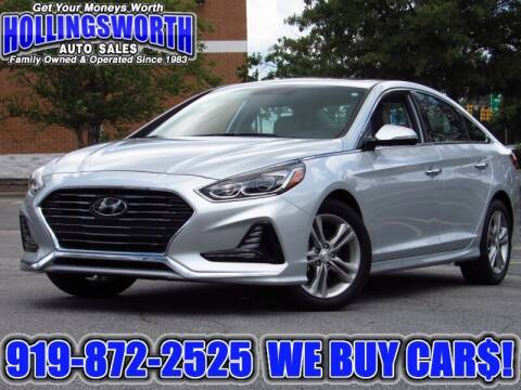 2018 Hyundai Sonata for sale at Hollingsworth Auto Sales in Raleigh NC