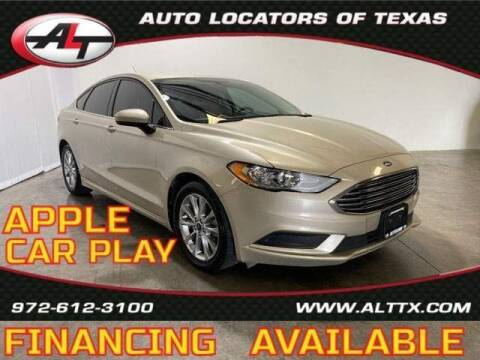 2017 Ford Fusion for sale at AUTO LOCATORS OF TEXAS in Plano TX