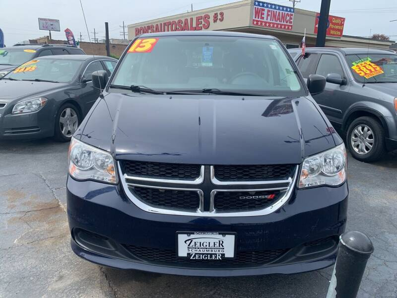 2013 Dodge Grand Caravan for sale at RON'S AUTO SALES INC - MAYWOOD in Maywood IL