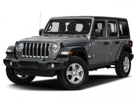 2020 Jeep Wrangler Unlimited for sale at Hawk Ford of St. Charles in Saint Charles IL