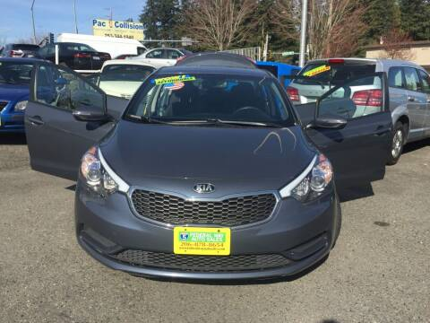 2016 Kia Forte for sale at Federal Way Auto Sales in Federal Way WA