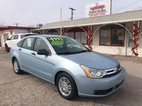 2009 Ford Focus for sale at Senor Coche Auto Sales in Las Cruces NM