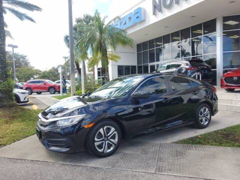 2018 Honda Civic for sale at Mazda of North Miami in Miami FL