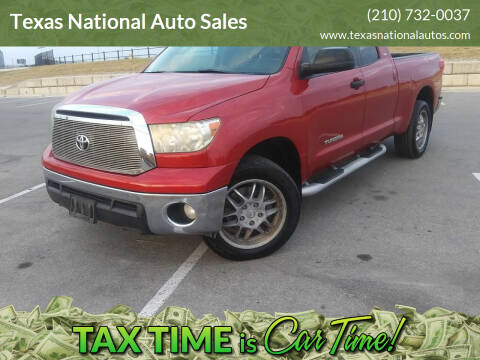 2011 Toyota Tundra for sale at Texas National Auto Sales in San Antonio TX