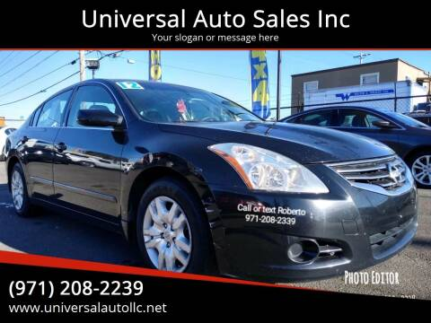 2012 Nissan Altima for sale at Universal Auto Sales Inc in Salem OR