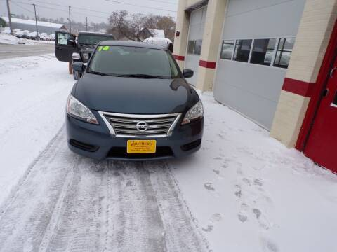 2014 Nissan Sentra for sale at Brothers Used Cars Inc in Sioux City IA