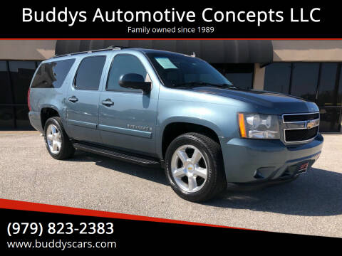 2008 Chevrolet Suburban for sale at Buddys Automotive Concepts LLC in Bryan TX
