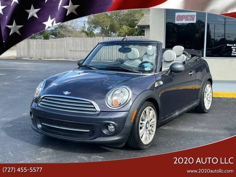 2012 MINI Cooper Convertible for sale at 2020 AUTO LLC in Clearwater FL