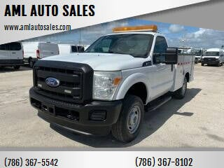 2011 Ford F-250 Super Duty for sale at AML AUTO SALES - Utility Trucks in Opa-Locka FL