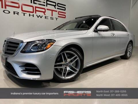 2018 Mercedes-Benz S-Class for sale at Fishers Imports in Fishers IN