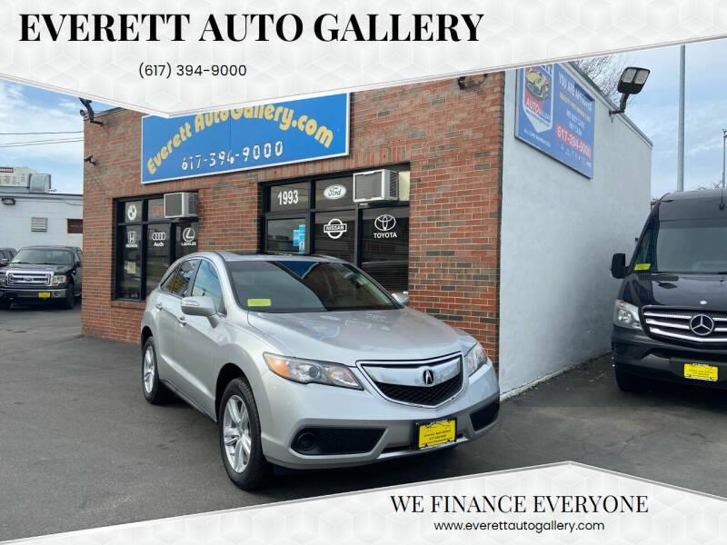 2014 Acura RDX for sale at Everett Auto Gallery in Everett MA