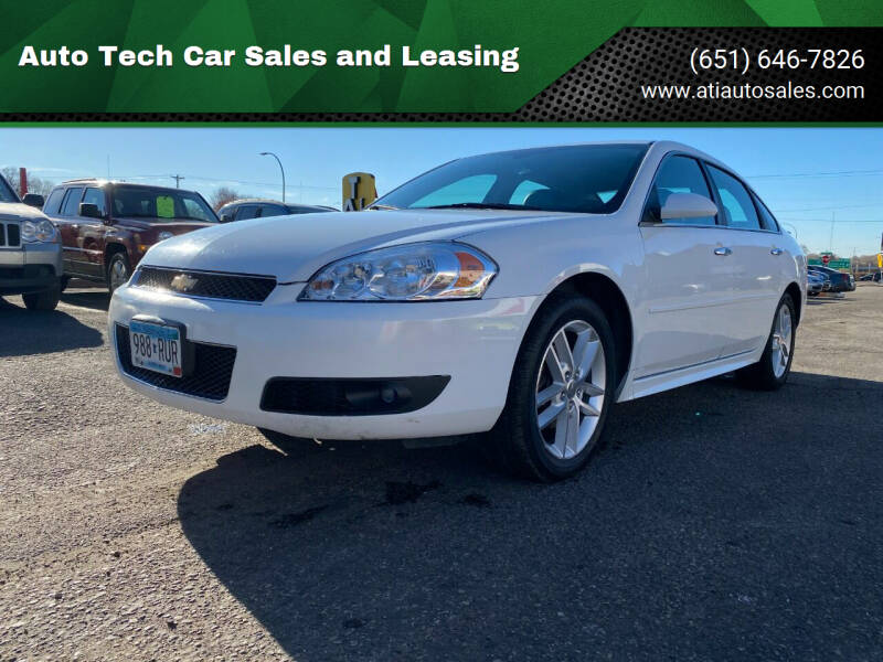 2014 Chevrolet Impala Limited for sale at Auto Tech Car Sales in Saint Paul MN