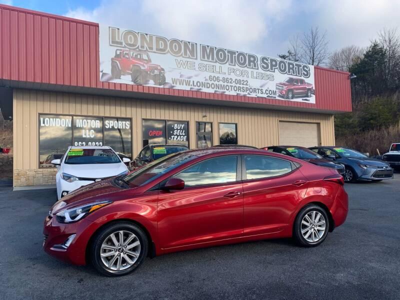 2014 Hyundai Elantra for sale at London Motor Sports, LLC in London KY