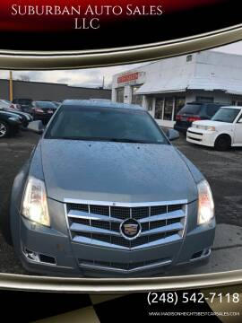2008 Cadillac CTS for sale at Suburban Auto Sales LLC in Madison Heights MI