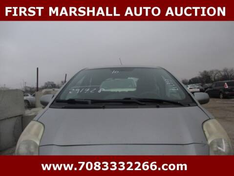 2010 Toyota Yaris for sale at First Marshall Auto Auction in Harvey IL