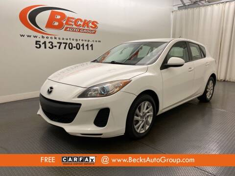 2013 Mazda MAZDA3 for sale at Becks Auto Group in Mason OH