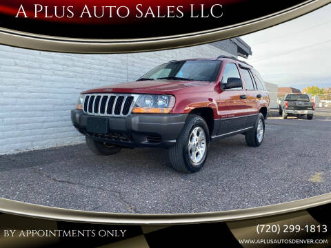 2001 Jeep Grand Cherokee for sale at A Plus Auto Sales LLC in Denver CO