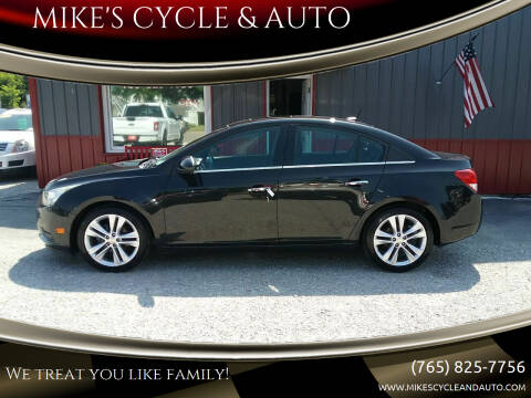 2011 Chevrolet Cruze for sale at MIKE'S CYCLE & AUTO in Connersville IN