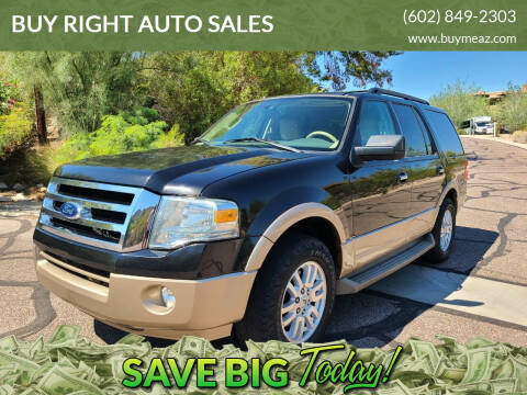 2013 Ford Expedition for sale at BUY RIGHT AUTO SALES 2 in Phoenix AZ