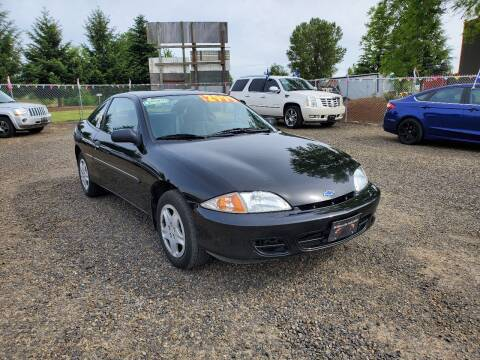 2002 Chevrolet Cavalier for sale at McMinnville Auto Sales LLC in Mcminnville OR