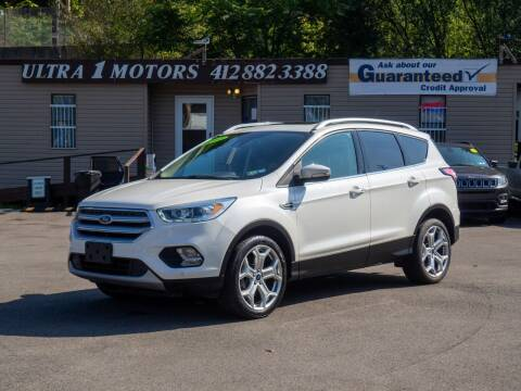 2017 Ford Escape for sale at Ultra 1 Motors in Pittsburgh PA