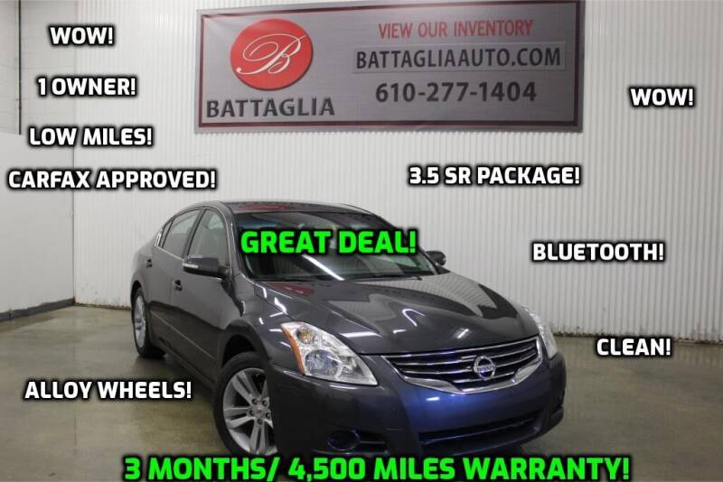 2012 Nissan Altima for sale at Battaglia Auto Sales in Plymouth Meeting PA