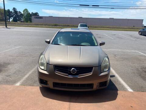2007 Nissan Maxima for sale at S & H AUTO LLC in Granite Falls NC