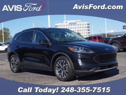 2020 Ford Escape Hybrid for sale at Work With Me Dave in Southfield MI