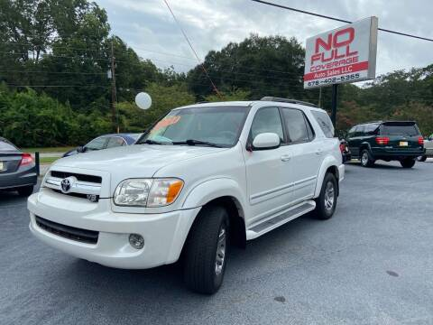 2006 Toyota Sequoia for sale at No Full Coverage Auto Sales in Austell GA