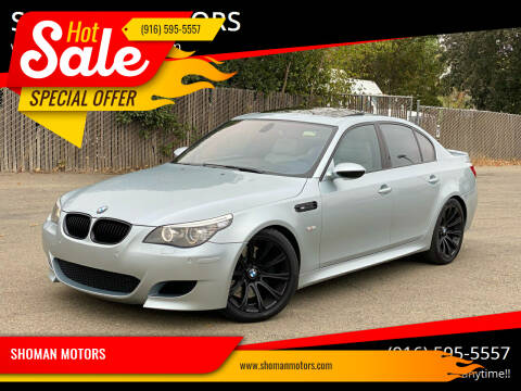 2008 BMW M5 for sale at SHOMAN MOTORS in Davis CA