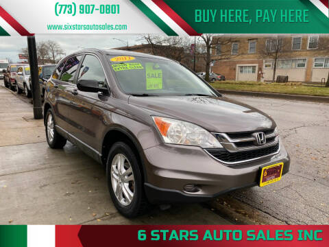2011 Honda CR-V for sale at 6 STARS AUTO SALES INC in Chicago IL