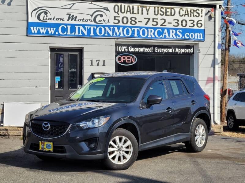 2014 Mazda CX-5 for sale at Clinton MotorCars in Shrewsbury MA