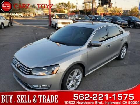 2014 Volkswagen Passat for sale at Carz 4 Toyz in Inglewood CA