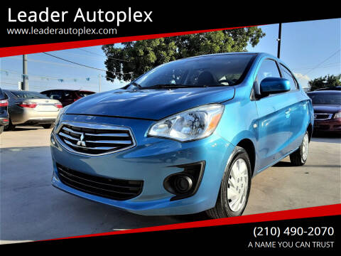 2018 Mitsubishi Mirage G4 for sale at Leader Autoplex in San Antonio TX