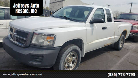 2008 Dodge Dakota for sale at Jeffreys Auto Resale, Inc in Clinton Township MI