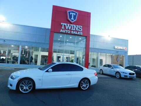2012 BMW 3 Series for sale at Twins Auto Sales Inc Redford 1 in Redford MI
