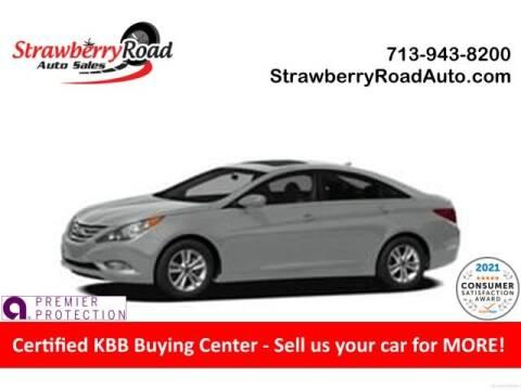2012 Hyundai Sonata for sale at Strawberry Road Auto Sales in Pasadena TX