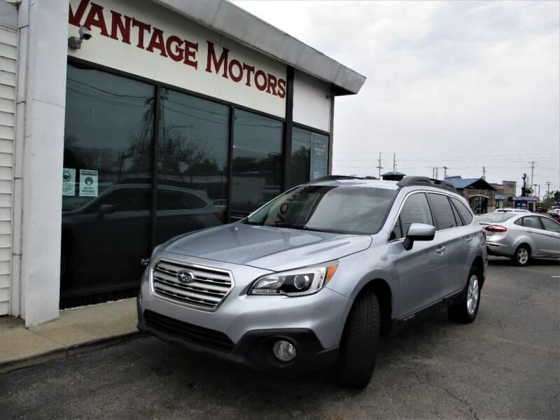 2016 Subaru Outback for sale at Vantage Motors LLC in Raytown MO