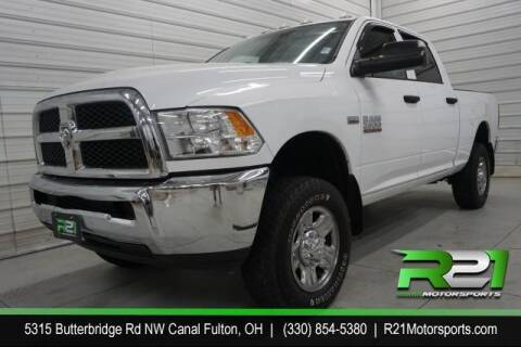2015 RAM Ram Pickup 2500 for sale at Route 21 Auto Sales in Canal Fulton OH