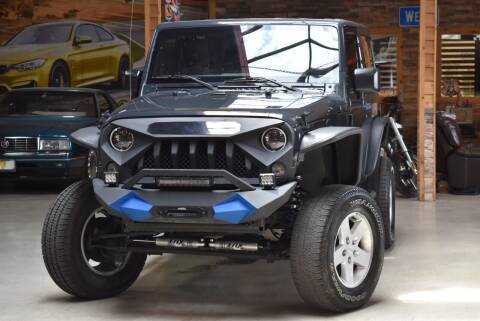2017 Jeep Wrangler for sale at Chicago Cars US in Summit IL
