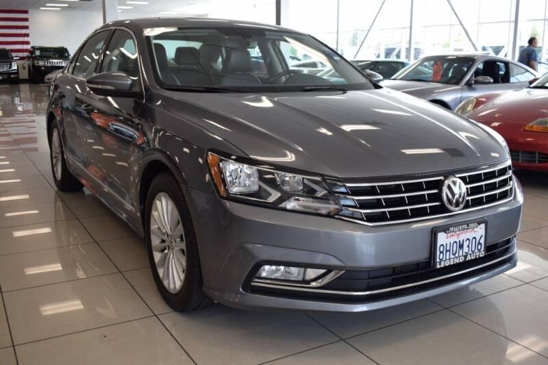 2016 Volkswagen Passat for sale at Legend Auto in Sacramento CA