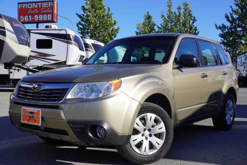 2009 Subaru Forester for sale at Frontier Auto & RV Sales in Anchorage AK